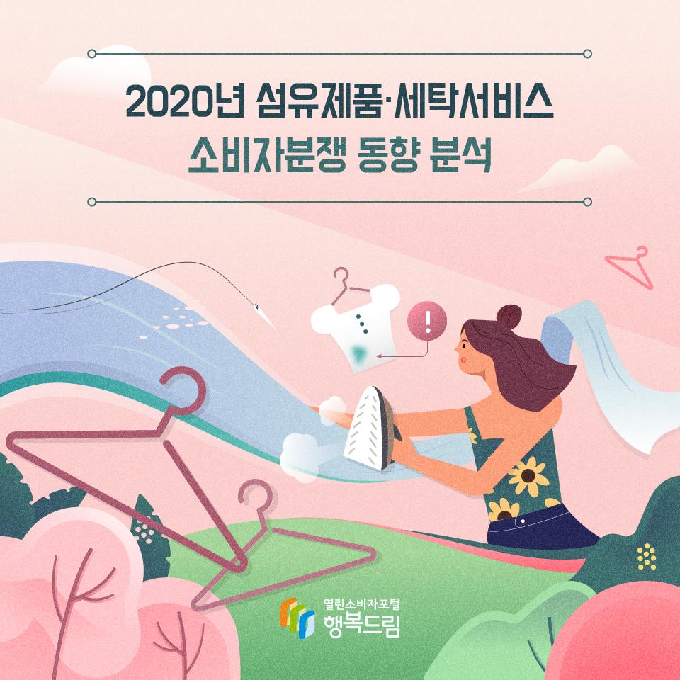 2020년 섬유제품·세탁서비스 소비자분쟁 동향 분석